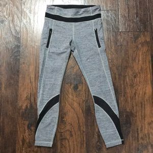 lululemon athletica Pants - Gray and Black Lululemon Leggings
